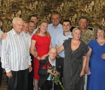 Ветеран Другої світової війни  відсвяткував сторіччя